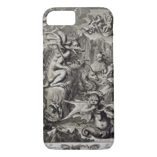 Scene of Hell, illustration from Book 1 Part 3 Cha iPhone 7 Case