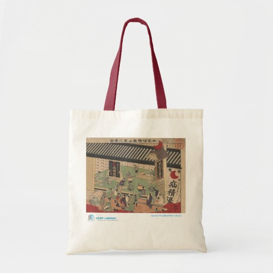 Scene of Japanese Pharmacy Tote Bag
