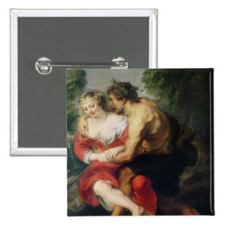 Scene of Love or The Gallant Conversation Pinback Buttons