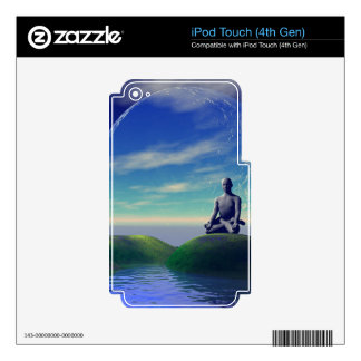 Scene of meditation skin for iPod touch 4G