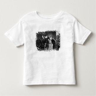 Scene of the cousin's letter toddler t-shirt