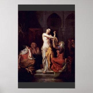 Scene Of The Moorish Harem Lady In Bath Poster