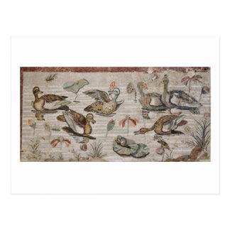 Scene of waterfowl on the Nile, House of Faun Postcard