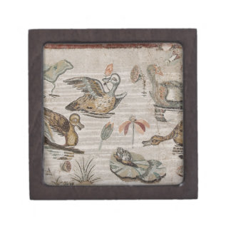 Scene of waterfowl on the Nile, House of Faun Premium Jewelry Boxes