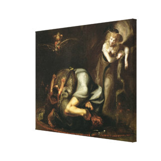 Scene of Witches from 'The Masque of Queens' by Be Canvas Print