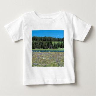 Scene Pelican Creek Yellowstone Wyoming Baby T-Shirt