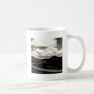 Scene Road Craters Of The Moon Coffee Mug