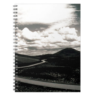 Scene Road Craters Of The Moon Notebook