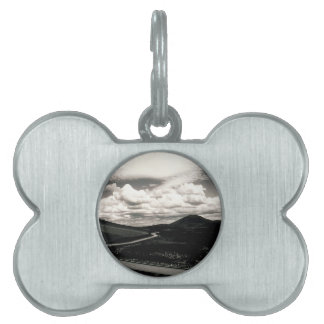 Scene Road Craters Of The Moon Pet ID Tags