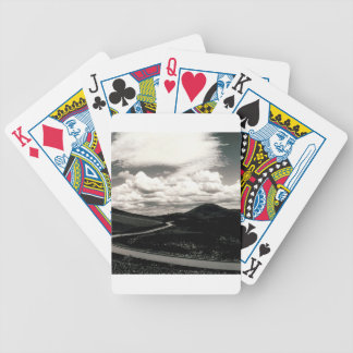 Scene Road Craters Of The Moon Bicycle Card Decks