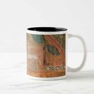 Scene with Centaurs, from the Room of King Ruggero Two-Tone Coffee Mug