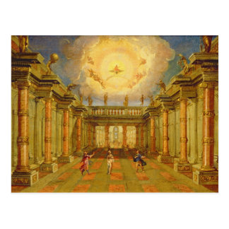Scene X: the courtyard of the King of Naxos Postcard