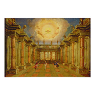 Scene X: the courtyard of the King of Naxos Poster