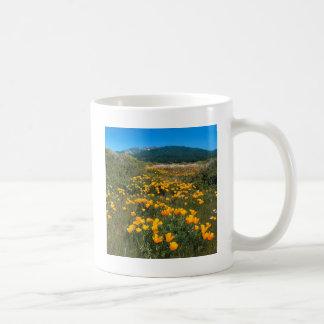 Scene Yellow Brick Road California Poppies Coffee Mug