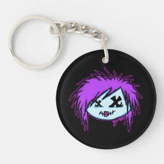 Scene Zombie (on dark background) Single-Sided Round Acrylic Keychain