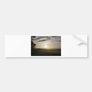 Scenery Bumper Sticker