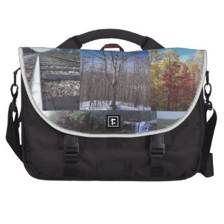 Scenery Collage Laptop Bag