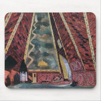Scenery design for Thamar, 1912 (colour litho) Mouse Pad