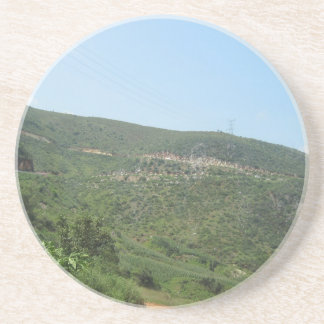 scenery drink coaster