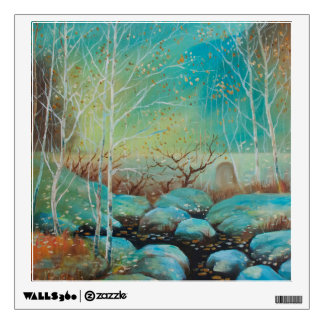 Scenery,Nature patterns,Oil painting landscap Wall Decal