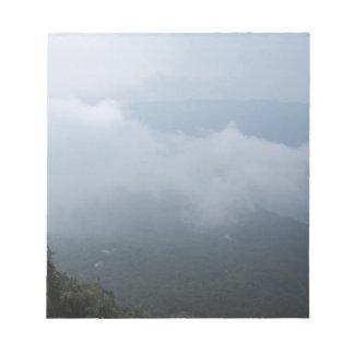scenery notepad