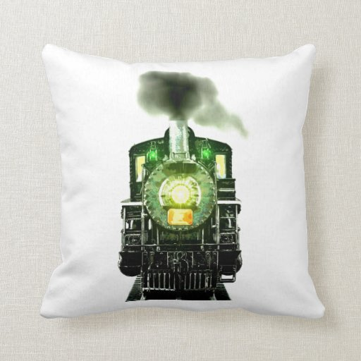 Scenery Of Railroad Throw Pillow