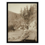 Scenery on Deadwood Road to Sturgis SD 1888 Poster