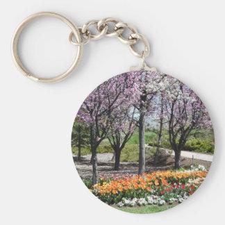 scenery,springtime scenery keychain