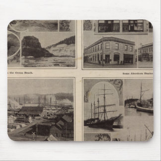Scenes Aberdeen, Wash Mouse Pad