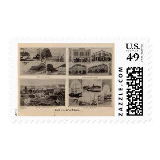Scenes Aberdeen, Wash Postage