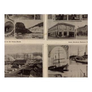 Scenes Aberdeen, Wash Postcard