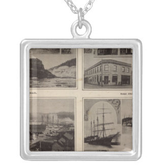 Scenes Aberdeen, Wash Silver Plated Necklace