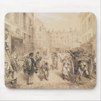 Scenes and Morals of Paris Mouse Pad