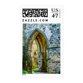 Scenes From A French Abbey Postage