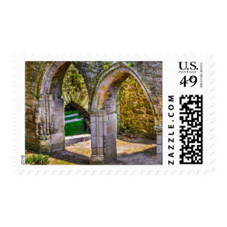 Scenes From A French Abbey Stamp