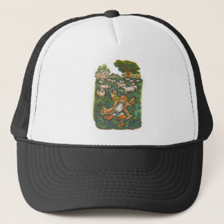 Scenes from Aesop's fables Trucker Hat