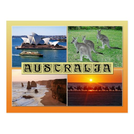 Scenes from Australia Post Cards