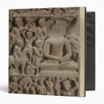 Scenes from Buddha's life, Sarnath, Uttar Pradesh 3 Ring Binder