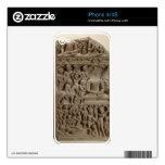 Scenes from Buddha's life, Sarnath, Uttar Pradesh Decal For iPhone 4