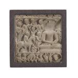 Scenes from Buddha's life, Sarnath, Uttar Pradesh Gift Box
