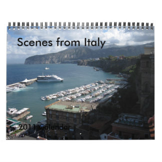 Scenes from Italy  - 2011 Calendar