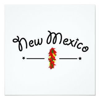 Scenes from New Mexico Invitation