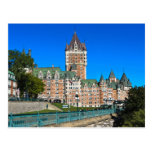 Scenes from Quebec City Postcard
