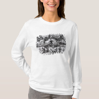 Scenes from 'Robinson Crusoe' by Daniel Defoe T-Shirt