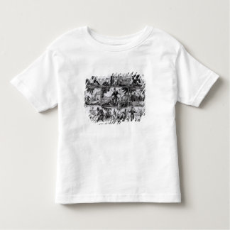 Scenes from 'Robinson Crusoe' by Daniel Defoe Toddler T-shirt
