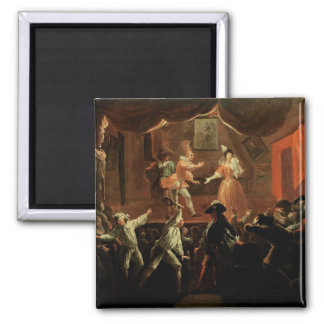 Scenes from 'Roman Comique' by Paul Refrigerator Magnet