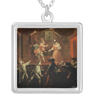 Scenes from 'Roman Comique' by Paul Silver Plated Necklace