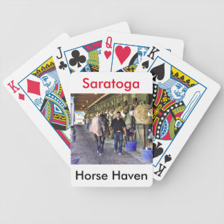 Scenes from Saratoga Bicycle Playing Cards
