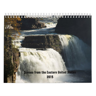 Scenes from the Eastern United States Calendar