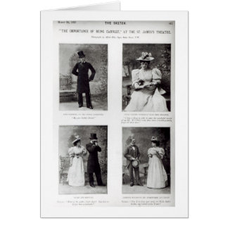 Scenes from The Importance of Being Earnest, by Os Card